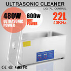 22L 22 L Digital Ultrasonic Cleaner Home Use Jewelry Clean Basket Timer UK Stock