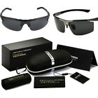 Men's Driving Sunglasses Polarized Glasses Sports Eyewear Fishing Golf with Box