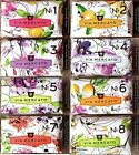 Via Mercato Italian Soap Bar - VARIETY PACK - 8 Total Bars No.1 -> No.8