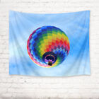 Rainbow Color Hot Air Balloon Tapestry Wall Hanging Living Room Bedroom Decor