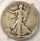 1921-D Walking Liberty Half Dollar 50C - PCGS G6 - Rare Key Certified Coin