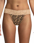 Maidenform Thong with Wide Lace Trim Panty Dream Panties Fit flexible No Lines <br/> Official Hanes Brands Store -- First Quality Authentic