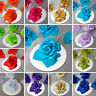 24 pcs CRAFT Silk ROSES Flowers - Wedding FAVORS Crafts SALE Discounted SUPPLIES