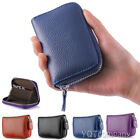 Women Leather Coin Card Key Bag Wallet Pouch Mini Purse Zipper Small Change Bag image