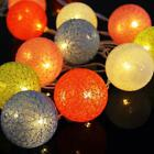 20 LED Outdoor Lighting Patio Party Globe Ball String Lights Bulb Wedding Party