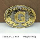 Mens Western Cowboy Texas Rodeo Initial Letters Belt Buckle Quality Jewelry A-Z