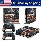 Vinyl Skin Cover Decal for Sony Playstation 4 PS4 Console + 2 Controller Sticker