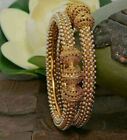 **uk Seller**  Bollywood Indian Costume Jewellery Bridal Pearl Bangles Bracelet