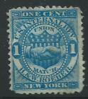 RO 160a--H&W ROEBER 1  CENT PRIVATE DIE MATCH STAMP-#2-47