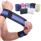 2x Weight Lifting Wrist Wraps Bandage Hand Support Gym Straps Brace Safety Bands