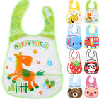 US Newborn Cute Baby Kids Infant Soft Animal Waterproof Saliva Towel Baby Bib