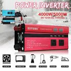 4000W/5000W Car LED Solar Power Inverter DC to AC Sine Wave Converter US