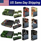 Vinyl Protective Skin Xbox One Console 2 Wireless Controller