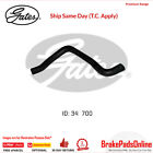 Curved Radiator Hose 05-0673 for FORD Australia Corsair UA Fitting Position : Lo