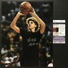 Autographed/Signed LAMELO BALL Lavar BBB 11x14 Basketball Photo JSA COA Auto