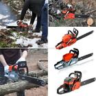 New Petrol Chainsaw Saw Blade With Chains, Bar Cover and Tool Kit Garden ZZ