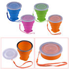 Drinking Cup Portable Silicone Telescopic Collapsible Folding Travel Camping
