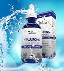 100% Pure HYALURONIC ACID Plumps Wrinkles Hydration Anti Aging various oz