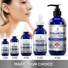 ❤ 100% Pure HYALURONIC ACID Plumps Wrinkles Hydration Anti Aging various oz image