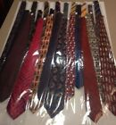Silk Neckties (Assorted Brands)
