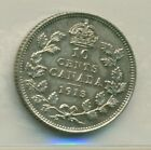 ICCS Canada 1913 10 cents MS-60 Cleaned HT 357
