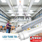 10-100 PACK LED G13 4FT 4 Foot T8 Tube Light Bulbs 18W 6000K CLEAR OR MILKY LENS <br/> ✓High Quality ✓Long Lasting ✓Quick Shipping✓Save Energy
