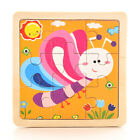 Kids Baby Wooden Learning Geometry Educational Toys Puzzle Montessori