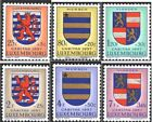 Luxembourg 575-580 (complete issue) unmounted mint / never hinged 1957 Luxembour