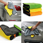 HOT Super Absorbent Car Cleaning Towel Wiping Cloth Car Care Coral Velvet Soft
