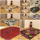 NEW FLORAL LEAF PATTERN THICK 100% PURE INDIAN WOOL RUGS MASSIVE CLEARANCE SALE
