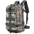 30L 3P Combat Military Backpack Rucksack Tactical Lightweight Camping Bag Large