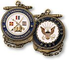 U.S. Navy ~ RTC ~ Recruit Training Command ~ Great Lakes ~ Challenge Coin