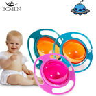 training plate - Baby Anti Spill Bowl 360 Rotate Universal Gyro Gravity Kids Feeding Training Cup