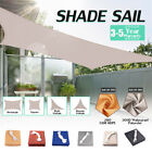 Waterproof Sun Shade Sail 280GSM/300D UV Outdoor Patio Canopy Triangle Cover