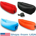 Внешний вид - Inflatable Couch Portable Lazy Sleeping Sofa Outdoor Air Lounger Camping Bed 1pc