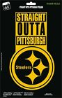 Pittsburgh Steelers Str8 Outta NFL Football Champs Gold Vinyl Decal Car Window $12.99 USD on eBay