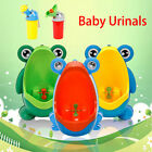Cute Cartoon Frog Baby Potty Training Toilet Urinal Girls Boys Kids Portable  image
