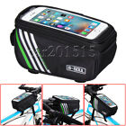 Bicycle Phone Holder Bike Touch Screen Frame Bag Case Storage Holder Bag Luggage