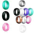 Kyпить 7Pcs Silicone Wedding Ring Rubber Band Women Men Sport Outdoor Flexible Workout на еВаy.соm