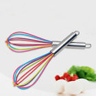 NE_ EG_ Stainless Steel Handle Silicone Balloon Wire Egg Beater Whisk Mixer To