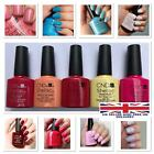 CND Shellac UV Nail Polish Pick From 133+ Colours,Top & Base,New Nude Collection