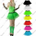 New Womens 4 Layer Halloween Dance Hen Night Party Fancy Costume Mini Tutu Skirt
