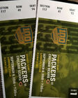 Green+Bay+Packers+vs+Chicago+Bear+Tickets..100+Year+Anniversary+Celbration%21