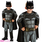 Kids Justice League Superhero Costume Childs Boys Girls Comic Book Fancy Dress