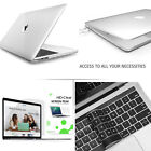 Glossy Clear Case Keyboad Skin Screen Protector MacBook Air Pro 13 15 Touch Bar