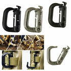 Carabiner Snap Hanging Hook D-Ring Strong Tactical Link EDC Sports Tool 4 Colors