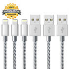 iPhone Charger Cable Lightning Marktol (3FT-3Pack,Grey) Fast Sync USB Nylon...