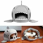 Unique Shark-mouth Shaped Pets Dog Bed Waterproof Soft Warm Plush Pet House AX