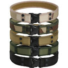 Mens Military Army Style Tactical Waist Belt Buckle Camo Belt Straps Adjustable