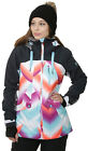 Roxy Wildlife Pop Snow Ocean Spray Women's Snowboard Ski Jacket NEW